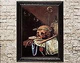 Vanitas, Still Life, Still Life Print, Mortal, Mortal Art,