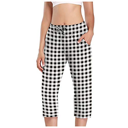 HINK Leggings de Yoga elásticos para Mujer Fitness Running Gym Print Longitud Pantalones Activos