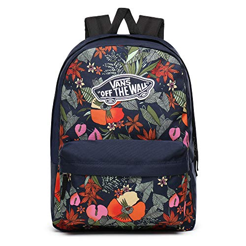 Vans WM Realm Backpack VN0A3UI6W14; Unisex Backpack; VN0A3UI6W14; Navy;