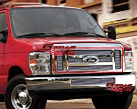 APS Compatible with 2008-2013 Ford Econoline Van E-Series Billet Grille Grill Insert F66658A