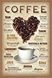 Coffee Varieties Cool Wall Decor Art Print Poster 24x36
