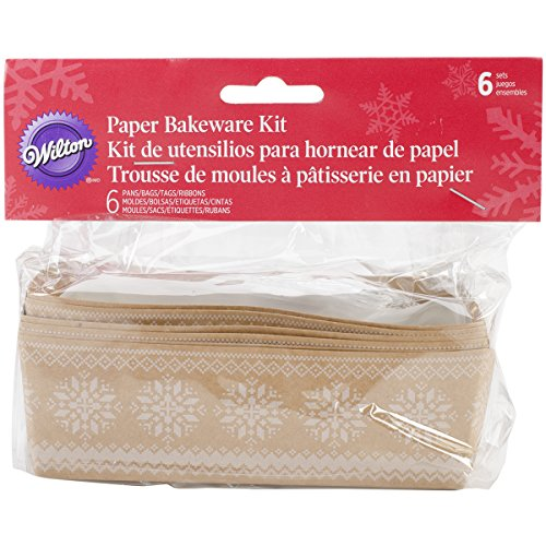Wilton 6-Count Christmas Holiday Sweet Swap Mini Loaf Kit