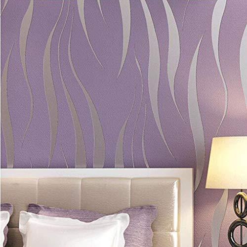 Papel Pintado Pared Moderno Dormitorio Marca Takefuns