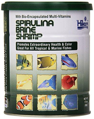 Freeze Dried Spirulina Brine Shrimp 1.76 Oz