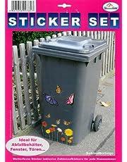 """My Home vuilnisbakken-sticker""""Vlinder"""""""