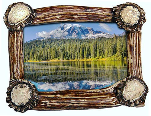 Mountain Mike's Reproductions Antler Base Picture Frame