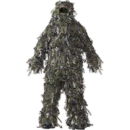 HOT SHOT Men's 3-Piece 3-D Ghillie Suit, Woodland Camo, X-Large/XX-Large