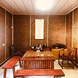 L-KCBTY Persiana Enrollable-Persianas De Bambú, Decoración del Interior Y Exterior, Personalizable, Toldo Vertical, Aislamiento Térmico/Transpirables/Naturales Persianas De Caña