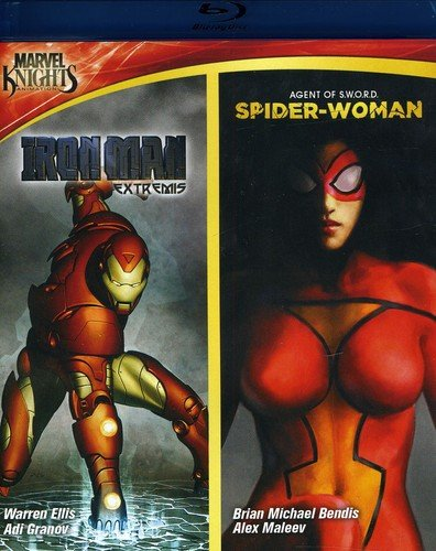 Marvel Knights: Iron Man & Spider Woman [Blu-ray] [Importado]
