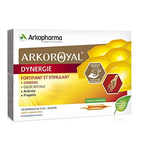 Arkopharma Arko Royal Dynergie Ginseng-Gelée Royale Orange Miel