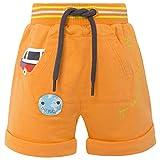 Tuc Tuc Bermuda Felpa NIÑO World Map Pantalones, Naranja (Naranja 10), 62 (Tamaño del Fabricante:3M) para Bebés