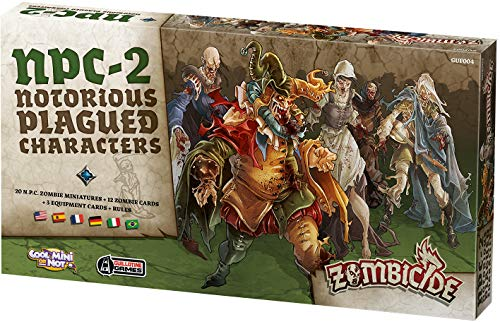 Asmodee - bordspel / speelfiguren - Zombicide Black Plague