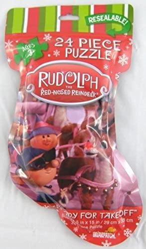 conveniente Rudolph the rojo-Nosed Reindeer Ready for Takeoff 24 Piece Piece Piece Jigsaw Puzzle by Briarpatch  hermoso