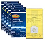EnviroCare Replacement Micro Filtration Vacuum Bags to fit Kenmore Canister Q. 5055, 50557 and 50558 Panasonic...
