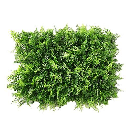 Gazon PING- Artificiel Haie Plante Panneau Mur 40x60cm / Pièce, Vert Écran Artificiel Haie Clôture Intimité Écran Pelouse Décoration De Jardin Intérieur Et Extérieur (Size : 4pack)