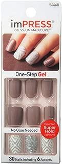 Impress Press-On Manicure, Ultra Gel Shine 24 ea