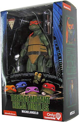 Neca las Tortugas Ninja 1990, Figura de Acción Michelangelo