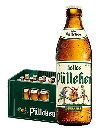 Veltins Helles Pülleken Bier (24 x 0,33l) Flaschen inkl. Pfand MEHRWEG Beer Cerveza