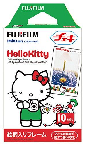 FUJIFILM インスタントカメラ チェキ用フィルム 10枚入 絵柄 (ハローキティ) INSTAX MINI KIT R 1