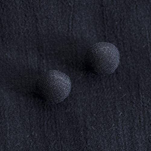くるみボタン(トップくるみボタン) #BT185 1穴 10mm C/#NAVY ネイビー 2個セット