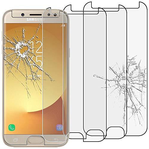 ebestStar - [Pacco x3 Vetro Temperato Compatibile con Samsung J5 2017 Galaxy SM-J530F Schermo Pacco da 3 Pellicole Anti Shock, Anti Rottura, Anti graffio [Apparecchio: 146.2 x 71.3 x 7.9mm, 5.2'']
