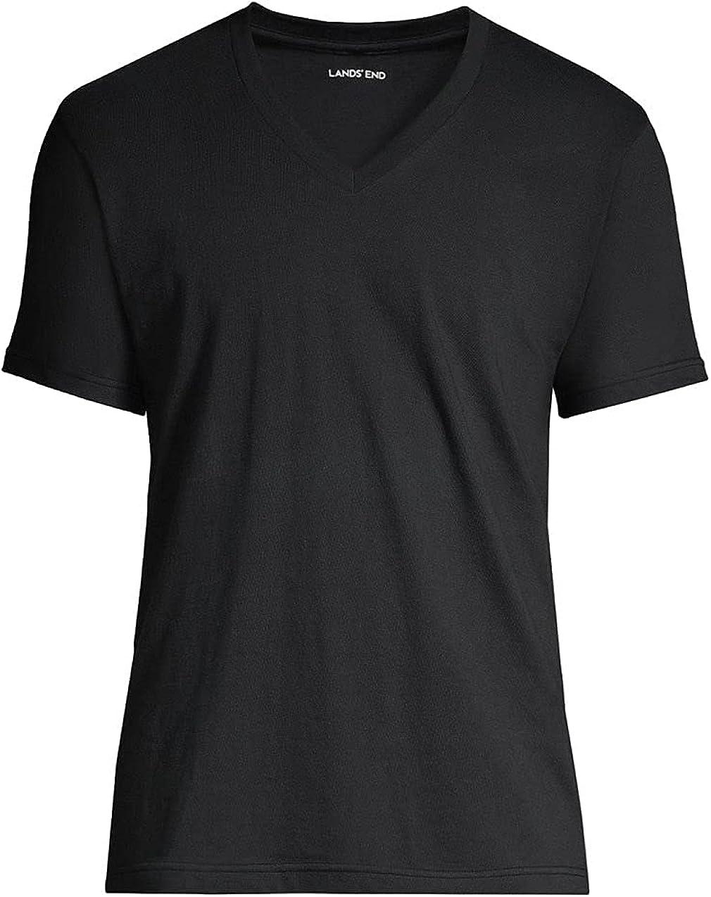Lands' End Men's Max 88% Over item handling ☆ OFF V-Neck 3 Pack Undershirt
