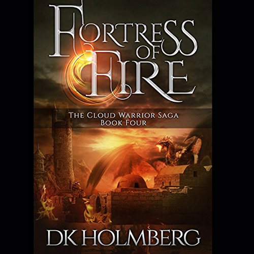 Fortress of Fire audiobook cover art