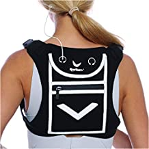 Running Mini Backpack Vest for Men & Women - Reflective w/360°Hi-Viz, Holds Accessories and any iPhone, Android, iPad mini - Lightweight Adjustable gear for Fitness, Walking, Cycling, Hiking and more!
