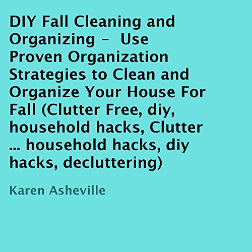 DIY Fall Cleaning and Organizing audiobook cover art