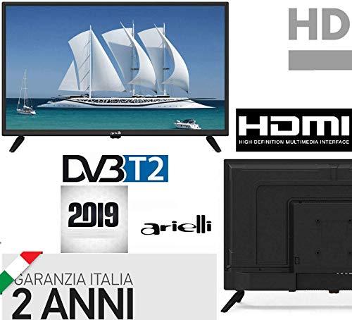 TV 22 POLLICI FULL HD ARIELLI DVB-T2 22' Con...