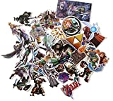 Legend of Zelda Themed Set of 44 Assorted Stickers Decal Set