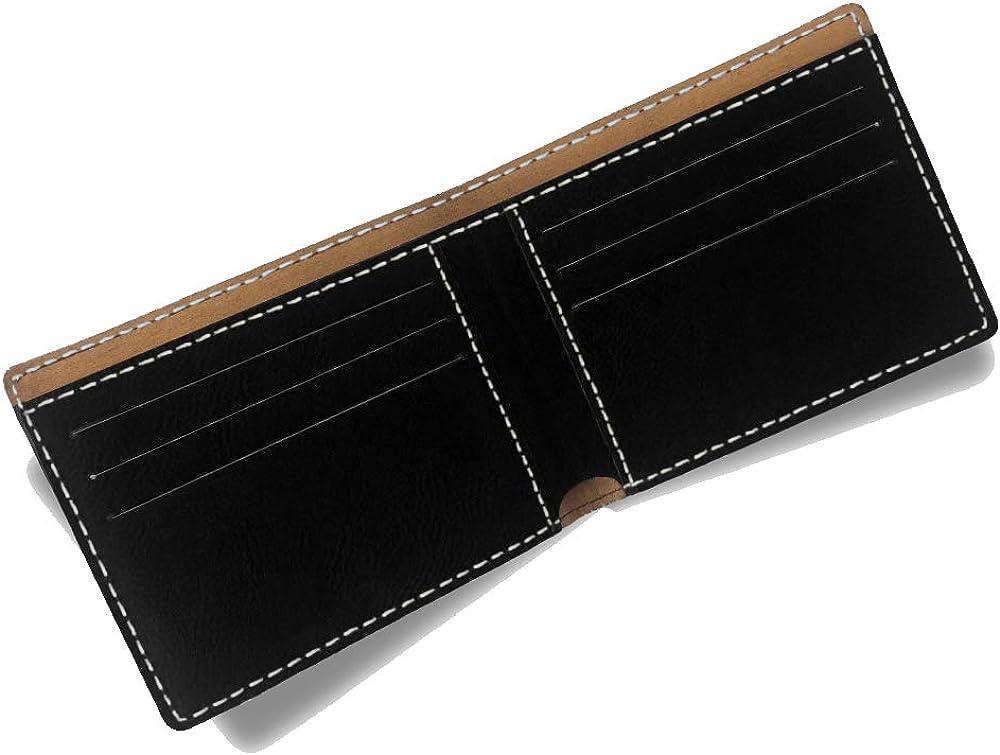 Disc Golf LaserGram Bi-Fold Wallet Personalized Engraving Included