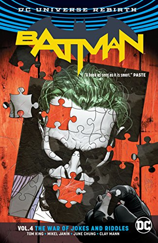 Batman (2016-) Vol. 4: The War of Jokes and Riddles (English Edition)