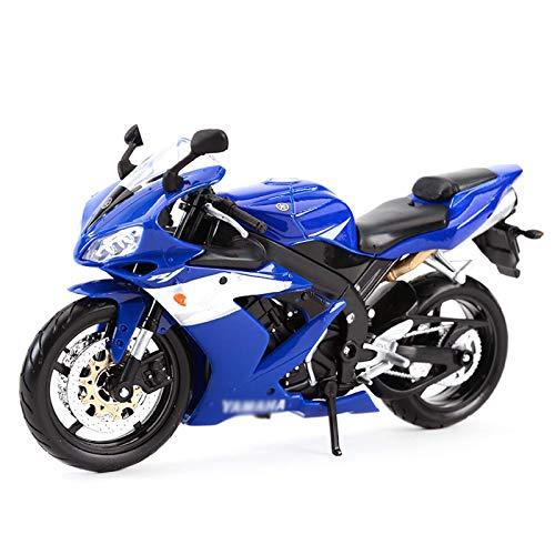 Trommel kompatibel mit Yamaha Motorrad Modell 1/12 Maßstab Die Gussfahrzeuge Hohe Simulation Spielzeug Kunststoff...