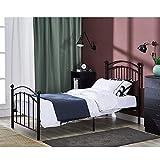 Best Twin Platform Bed - Panana Metal Single Bed Frame Metal Frames 3ft Review