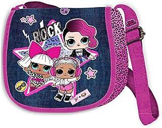LOL SURPRISE Kleine Fashion Jeans-Tasche Sporttasche Fitness und Training Kinder Jugend Unisex Mehrfarbig (Mehrfarbig), Ei...