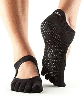 トゥーソックス フルトゥー バレリーナ グリップ ソックス 五本指靴下 Full Toe Bellarina Grip Socks TOESOX [並行輸入品]