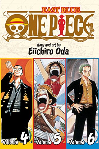 One Piece, Volumes 4-6: East Blue: Includes vols. 4, 5 & 6: Volume 2