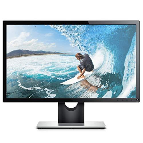 YILANJUN Monitor 21,5 Pulgadas, 1920 × 1080, 60 Hz, HDMI + VGA, Panel VA Ángulo Visión Amplio 178 °, Pantalla Ancha 16: 9, Inclinable,Negro, para Cibercafés, Salas de Estar, Oficinas