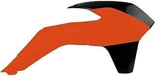 Polisport 13-15 KTM 125SX Radiator Shroud Set (Orange/Black)