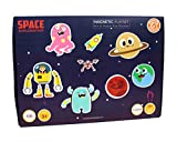 ButterflyFields Space Exploration Magnetic Play Set for 3 4 5+ Year Old Boys