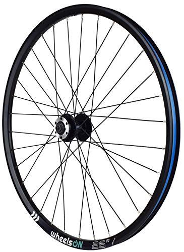 wheelsON 26 inch Front Wheel Mountain Bike QR Disc 32H Black