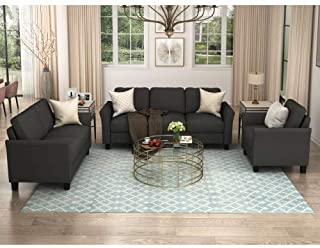 Amazon Com Living Room Furniture Sets Black Living Room Sets Living Room Furniture Home Kitchen