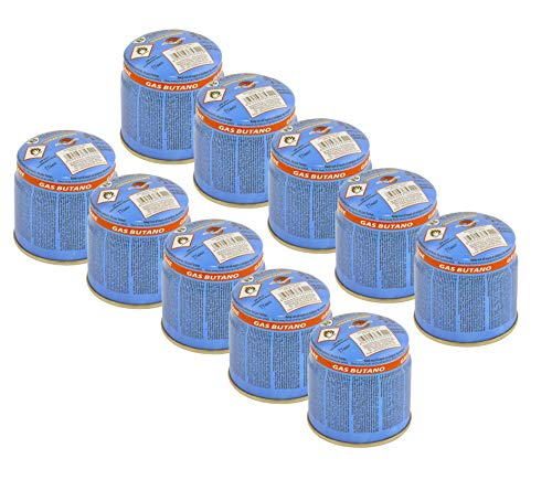 bahama 10x Universal 190g Butan Stechkartusche Gas Kartusche Gaskartuschen Gasbrenner Campingkocher