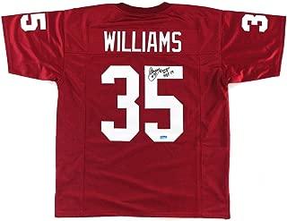 Signed Aeneas Williams Jersey - Arizona Red Custom