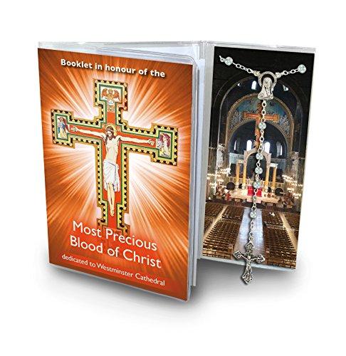 Ferrari & Arrighetti Librito Novena a la Sangre de Cristo (Catedral de Westminster) con Rosario - en inglés