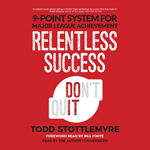 Relentless Success audiobook cover art