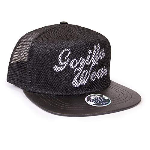 Gorilla Wear Mesh Cap - schwarz - Bodybuilding und Fitness Accessoires für Damen und Herren