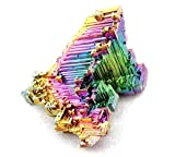 CountlessBooks&More Bismuth Crystal Stone Large Specimen for Collecting,Wire Wrapping,Wicca and Reiki Crystal Healing