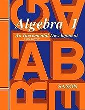 Saxon Algebra 1: Homeschool Kit Third Edition